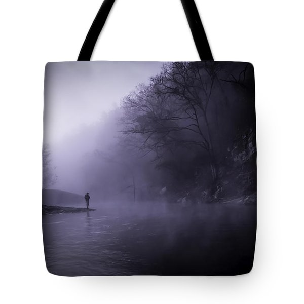 Early Morning On The Lower Mountain Fork River Tote Bag