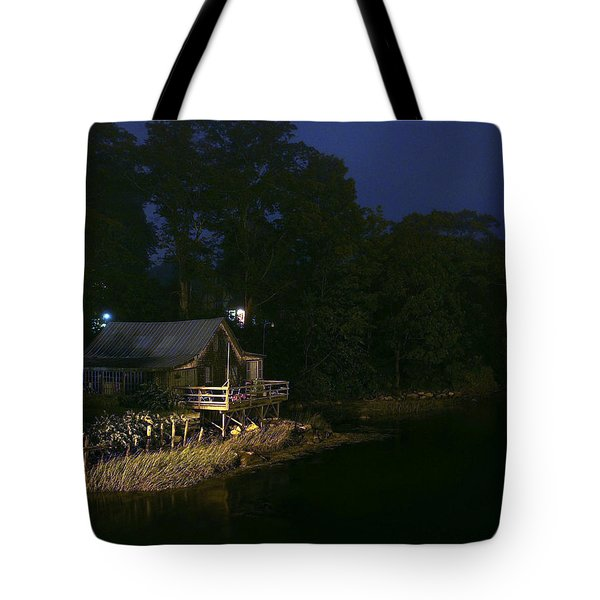 Early Morning On The River Tote Bag