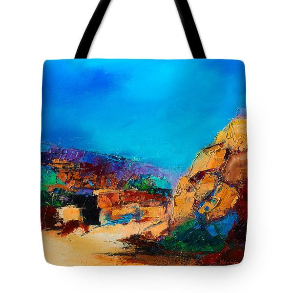 Early Morning Over The Canyon Tote Bag