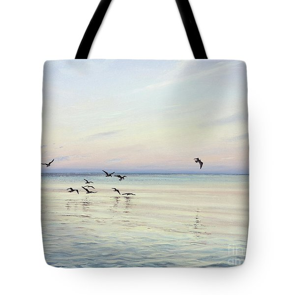 Early Morning Patrol Tote Bag