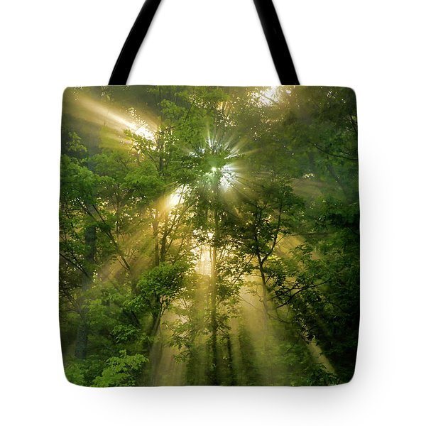 Early Morning Peace Tote Bag by Christina Rollo