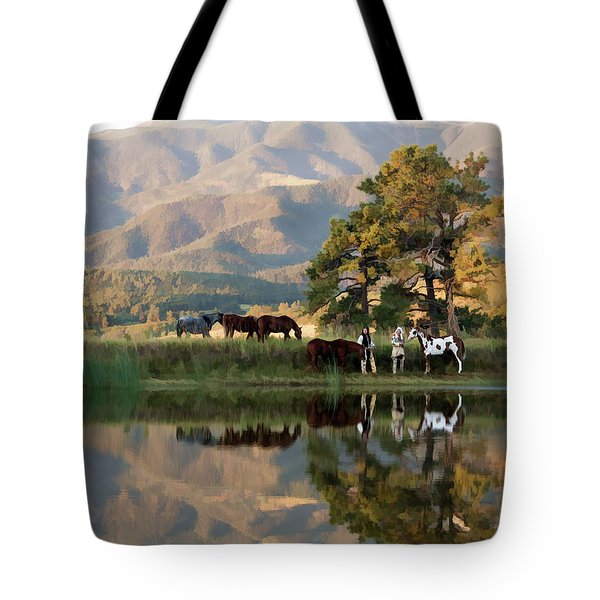 Early Morning Rendezvous Tote Bag