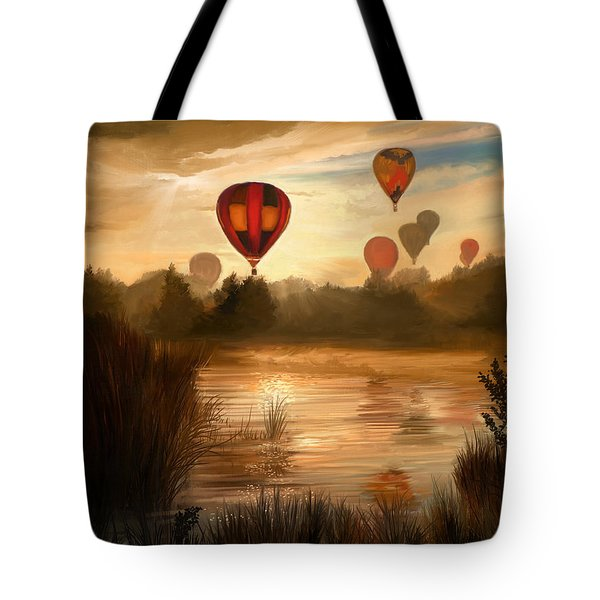 Early Morning Rise Tote Bag