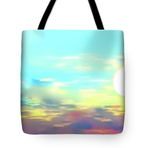 Tote Bag featuring the photograph Early Morning Rise- by JD Mims