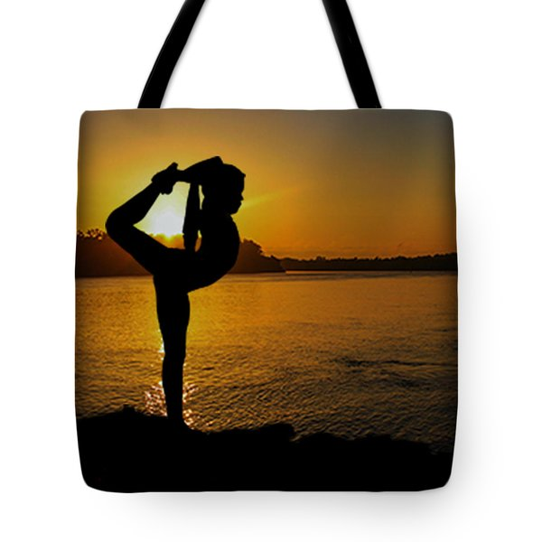 Tote Bag featuring the photograph Early Morning Exercise by Robert Hebert