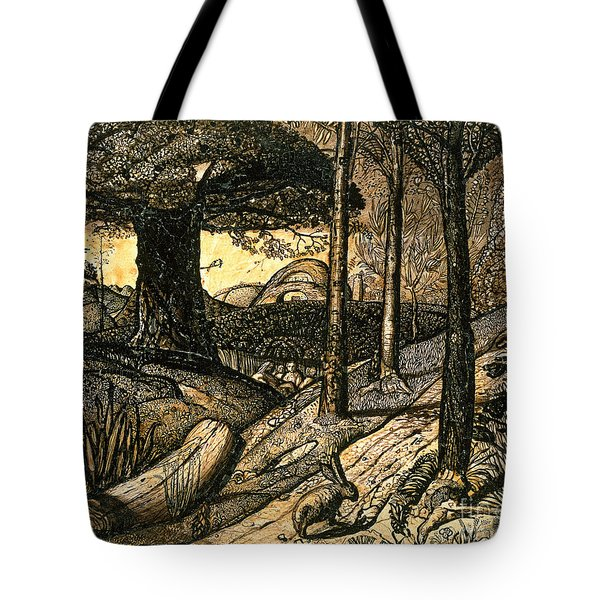 Early Morning Tote Bag by Samuel Palmer