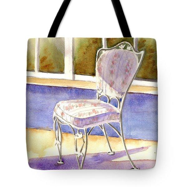 Early Morning Shadows Tote Bag by Marsha Elliott