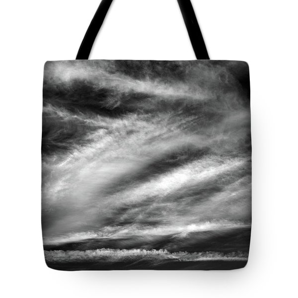 Tote Bag featuring the photograph Early Morning Sky. by Terence Davis
