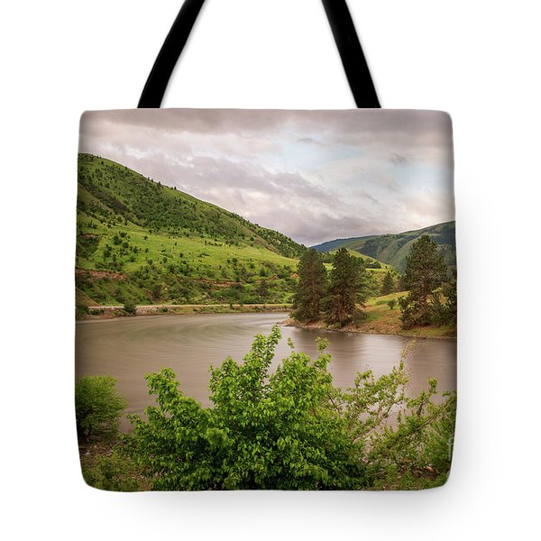 Early Morning Smoothy Waterscape Art By Kaylyn Franks  Tote Bag