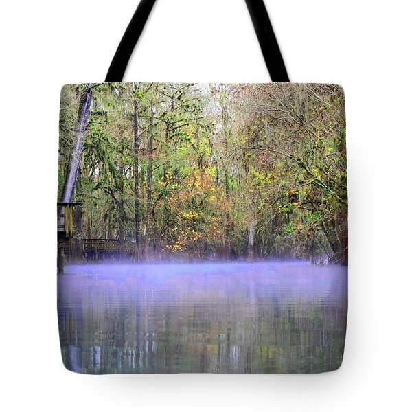 Early Morning Springs Tote Bag