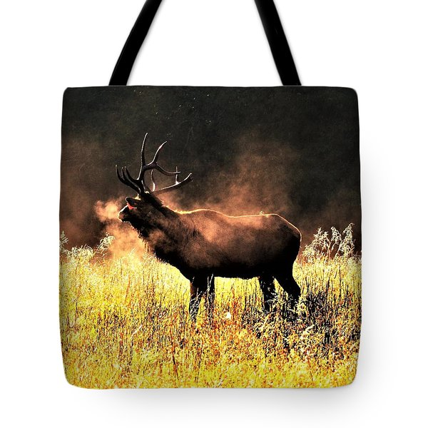 Early Morning Steam Tote Bag