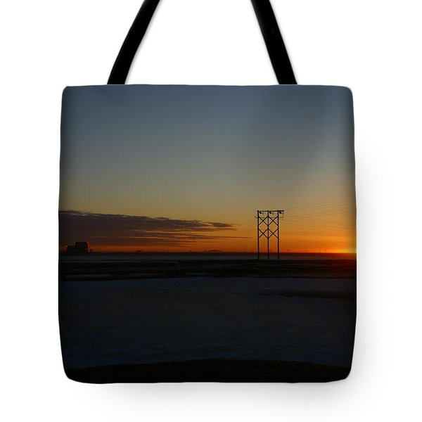 Early Morning Sunrise Tote Bag by Anthony Jones