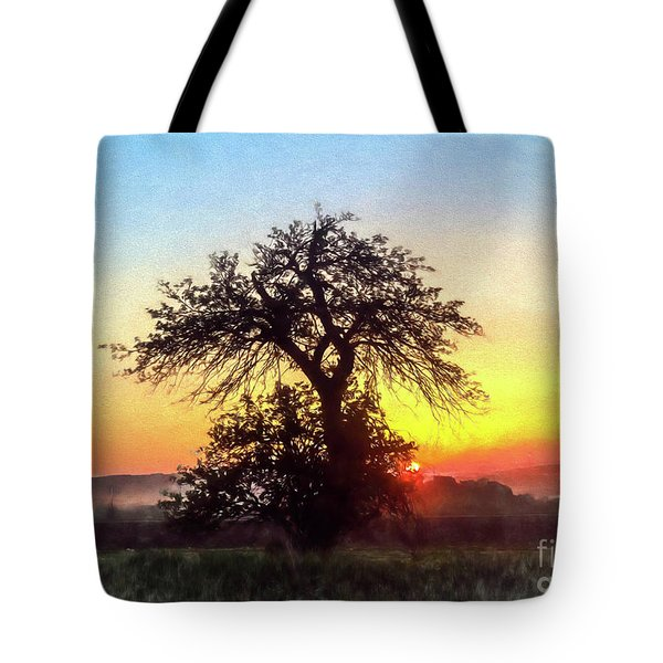 Early Morning Sunrise Tote Bag