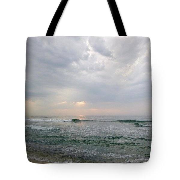 Early Morning Thunderstorm Tote Bag