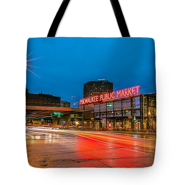 Early Morning Zoom Tote Bag