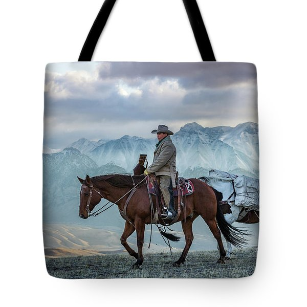 Early October Hunt Wild West Photography Art By Kaylyn Franks Tote Bag