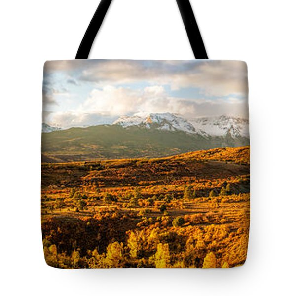 Early October Morning In The Rocky Mountains Tote Bag