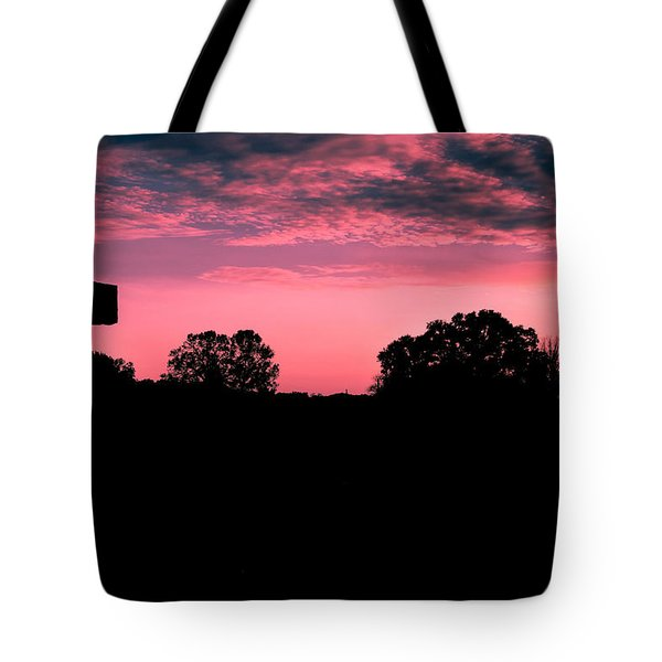Early On The Hill Tote Bag