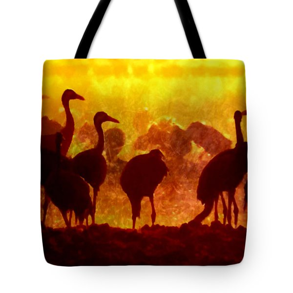 Early Risers  Tote Bag by Tlynn Brentnall
