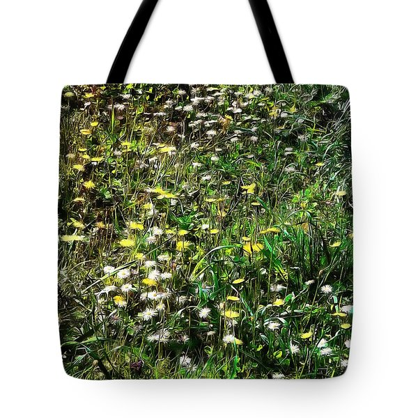 Early Spring Beauty In Umbria Tote Bag