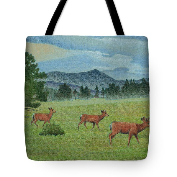 Early Spring Evergreen Tote Bag