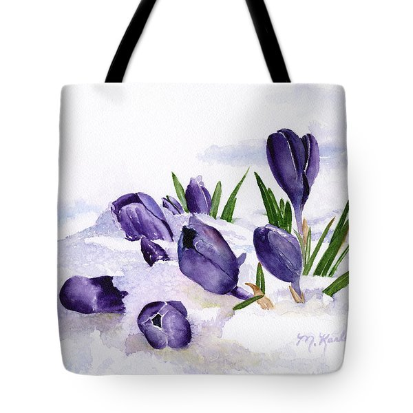 Early Spring In Montana Tote Bag