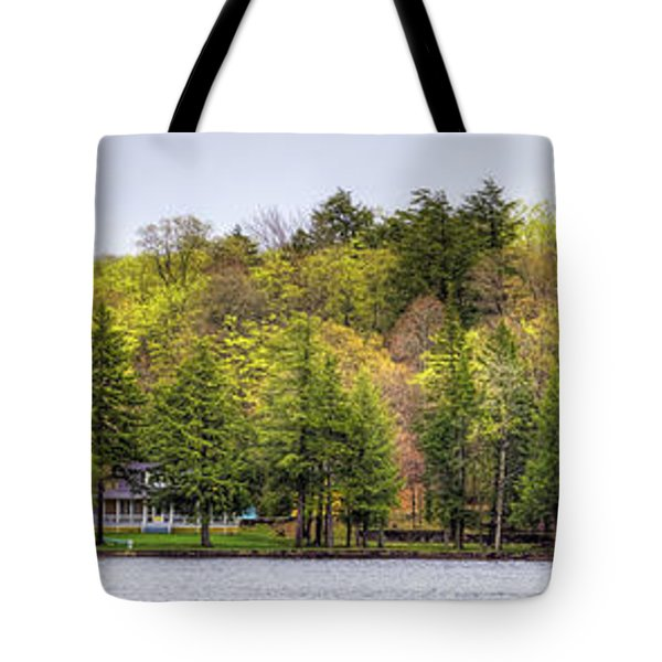 Early Spring Panorama Tote Bag by David Patterson