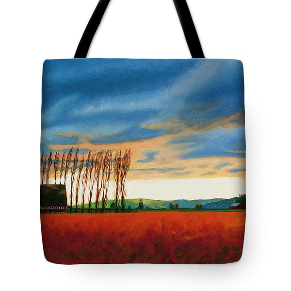 Early Spring, Skagit Valley Tote Bag