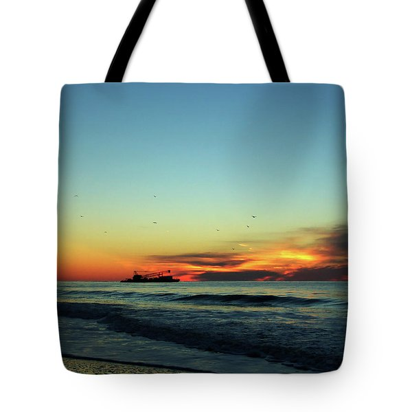 Early Start  Tote Bag
