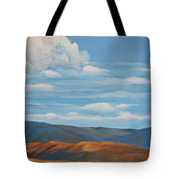 Early Summer Blue Hills Tote Bag