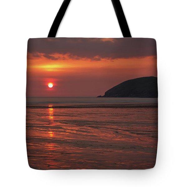 Early Summer On Croyde Beach In N Devon Tote Bag