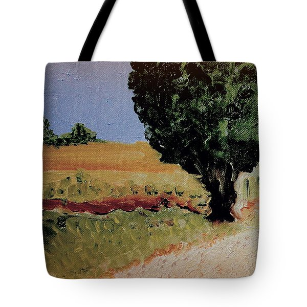 Tote Bag featuring the painting Early Sunday Morning by Bill OConnor