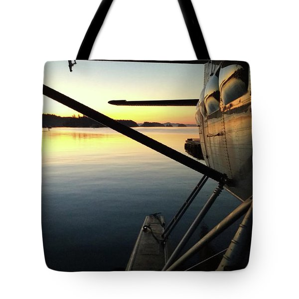 Early Two Tote Bag