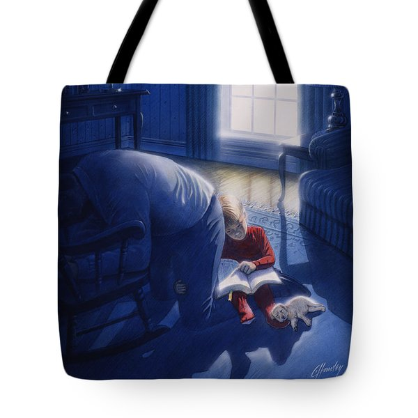 Early Will I Seek Thee Tote Bag by Cliff Hawley