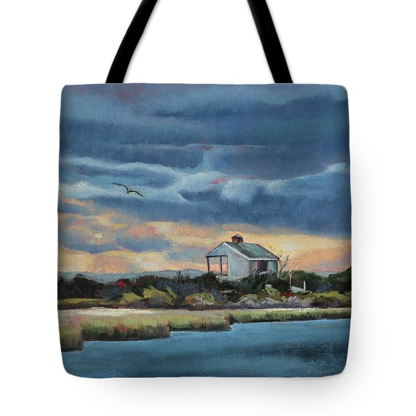 Early Winter Nocturne Tote Bag