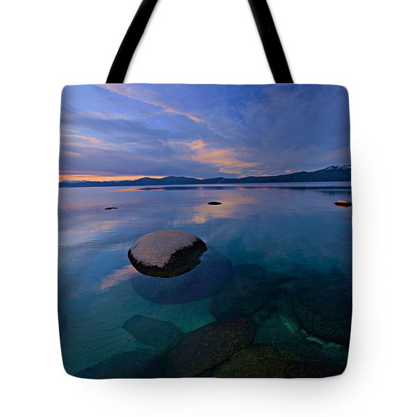 Early Winter Tote Bag by Sean Sarsfield