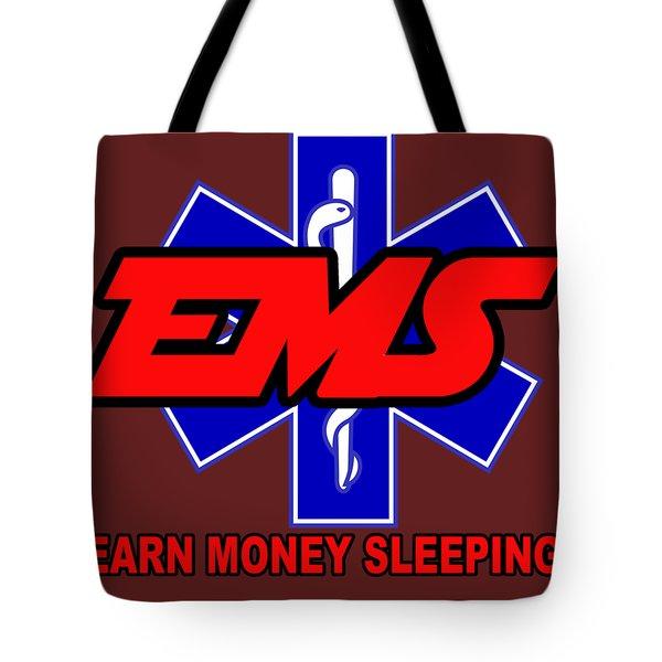Earn Money Sleeping Tote Bag