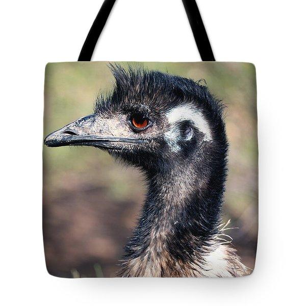 Earnest Emu Tote Bag