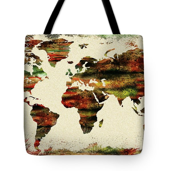 Earth And Color Tote Bag