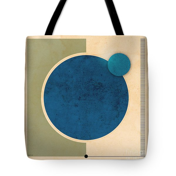 Earth And Moon Graphic Tote Bag by Phil Perkins