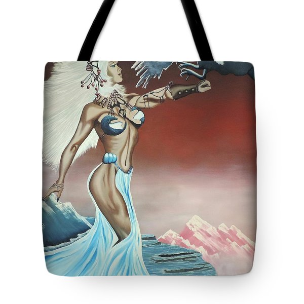 Earth Angel Tote Bag by Dianna Lewis