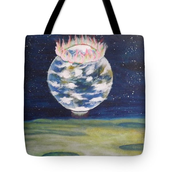 Earth Aura Tote Bag