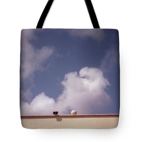 Earth Calling Sky  Tote Bag