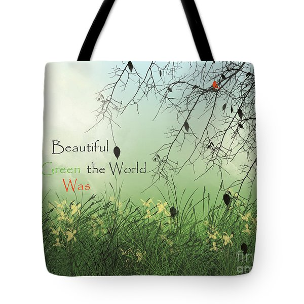 Earth Day 2016 Tote Bag by Trilby Cole