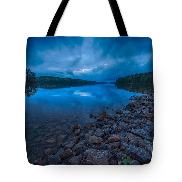 Earth Day Rain At The Tatoe Hole  Tote Bag by Robert Loe