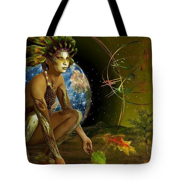 Earth Elemental Tote Bag by Shadowlea Is