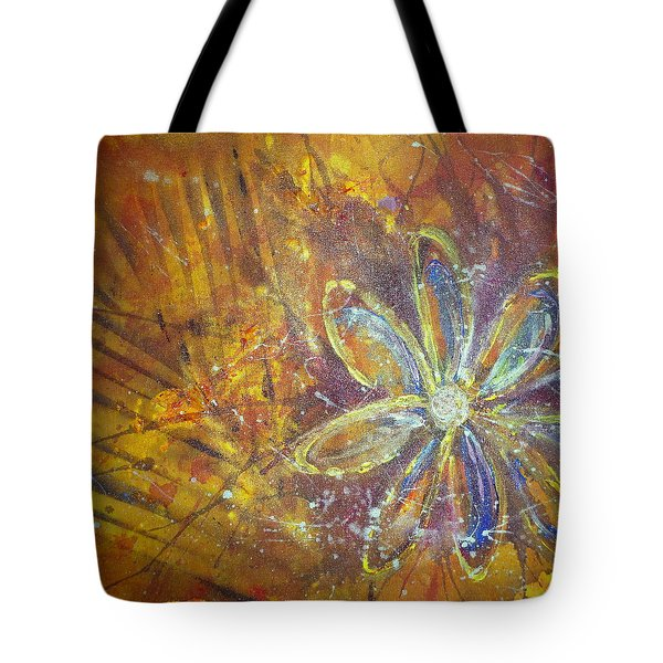 Earth Flower Tote Bag