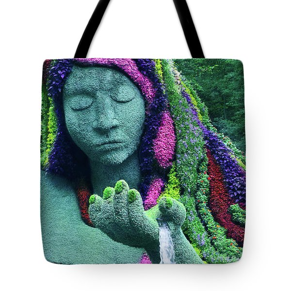 Earth Goddess Tote Bag