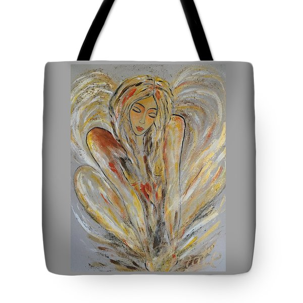 Earth Has Angels Far To Few And Heaven Is Overflowing.... Tote Bag