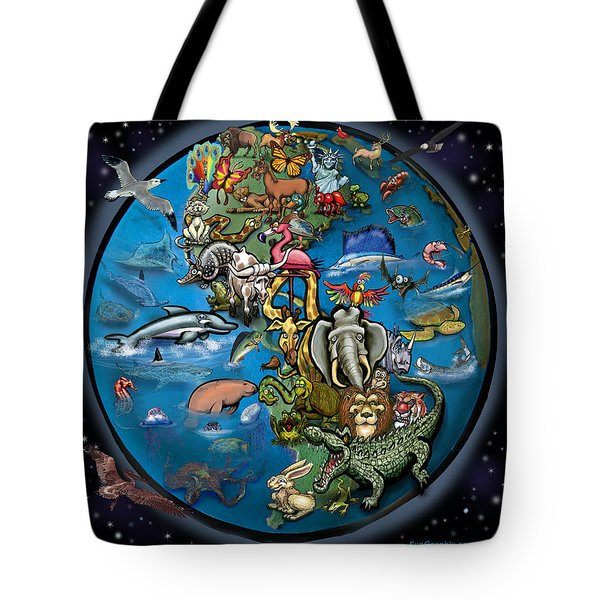 Earth Tote Bag by Kevin Middleton